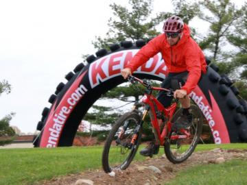 Kenda Tire launches new bicycle tire test track