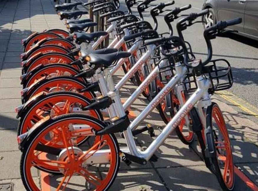 Mobike launches London Bike Sharing Scheme