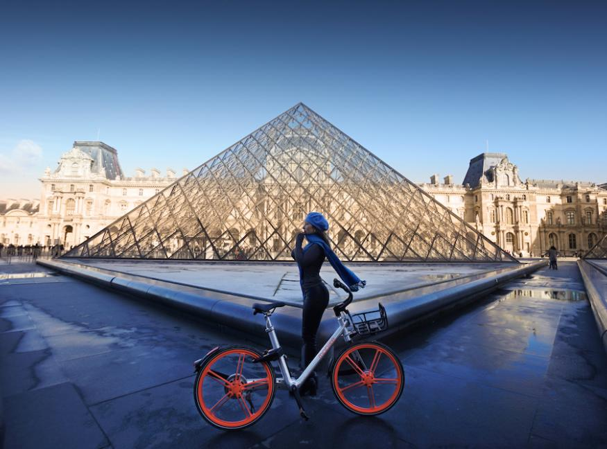 Mobike Launches Paris Trial