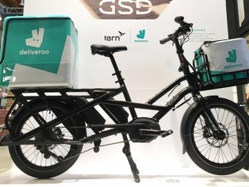 Tern and Deliveroo to Test E-Bike for On-Demand Delivery